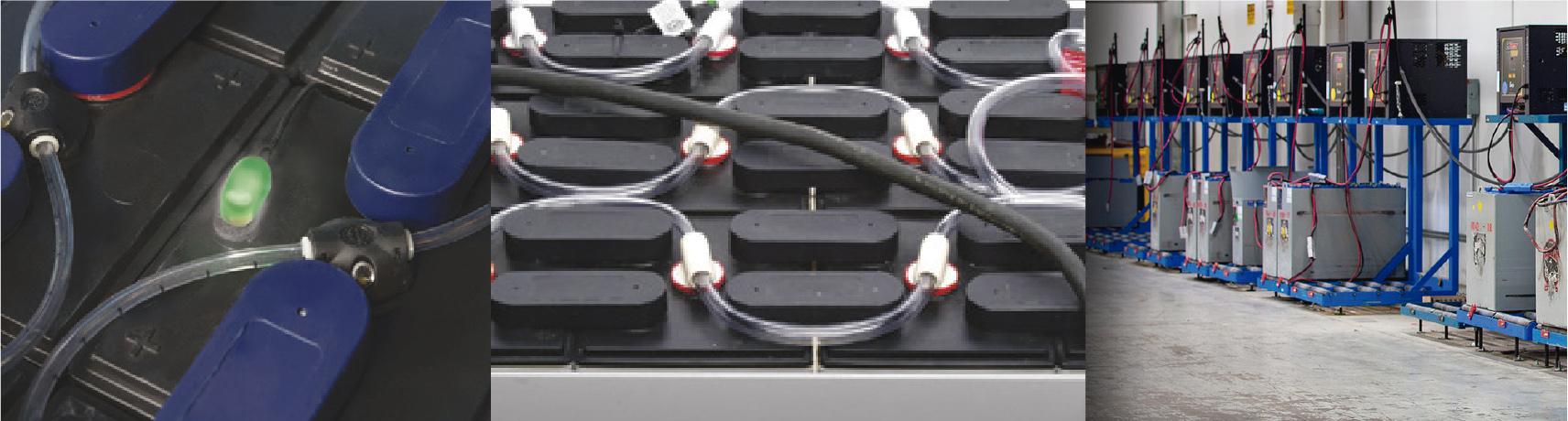 Baterías industriales para montacargas y patines eléctricos
